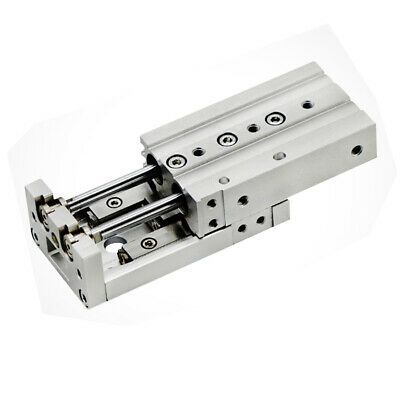H●SMC MXS16-125 Pneumatic Precision Guide Slide Cylinder New.