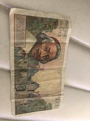 French Bank Notes. 1000/500 Mille Francs