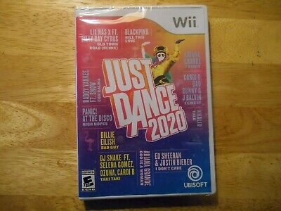 Just Dance 2020 * Nintendo Wii * Brand New Sealed * PROMPT SHIP