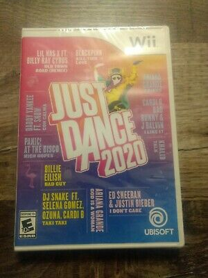 Just Dance 2020 (Nintendo Wii) Brand New Factory Sealed