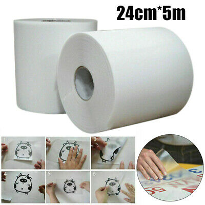 High Tack Clear Application Transfer Tape for Sign Craft Vinyl Roll 24cmX5m Wide