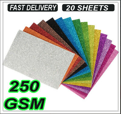20 A4 CRAFT BROWN CARD 250gsm THICK PAPER CRAFT MAKING BOARD STOCK BLANK LOT TAG