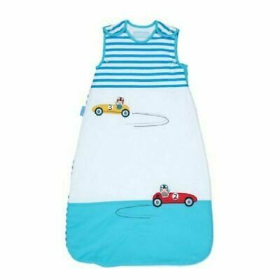 GroBag 0-6m 2.5 tog Blue Cars New