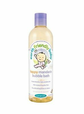 Lansinoh Earth Friendly Baby Happy Mandarin Bubble Bath 300ml New