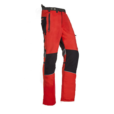 """SIP Innovation II Tall Fit """"C"""" Trousers  Red 1SPY- Large"""