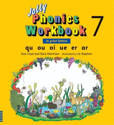 Jolly Phonics Workbook 7, Lloyd, Sue & Wernham, Sara, Used; Good Book