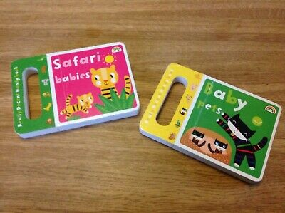 Safari Babies & Baby Pets Pre-school Books