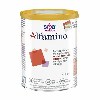 SMA Alfamino (Severe Cows Milk Allergy) Baby Milk 400g New