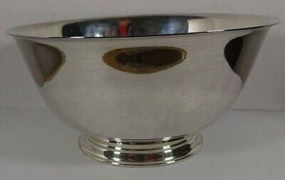 """Paul Revere Reproduction Silverplate Footed Bowl by Oneida Silversmiths 8"""""""