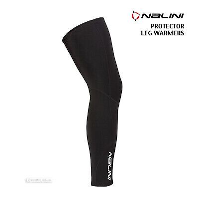 NONSTOP CICLISMO Warm Fleece Cycling Leg Warmers by Pissei BLUE//BLACK SMALL