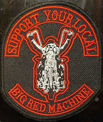 "Hells Angels ""OLDSCHOOL BIKER SYL/BRM""  Aufnäher/Patch Original 81 Support"