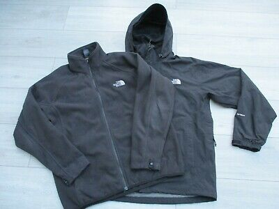 Green The North Face Men/'s Fleece Emilio Jacket 1//4 Pullover Top T0MH5BDY