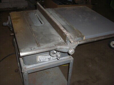 Vintage delta/rockwell table saw, 10 inch blade Cabinet grade