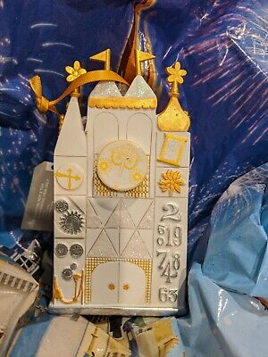 Disney Parks 2019 IT'S A SMALL WORLD Christmas Ornament Handcrafted