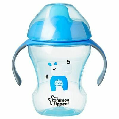 Tommee Tippee Training Sippee Cup 7+m 230ml Blue Rhino New