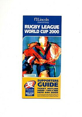 Rugby League World Cup 2000 Supporters Guide