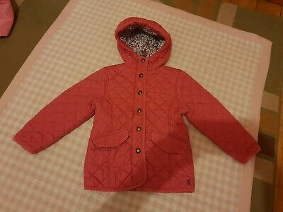 Age 4 Years Girls Pink Joules Coat