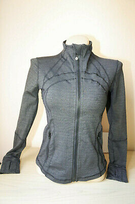 Lululemon Define Women's Full Zip Jacket Top Track Running Gym VGC Chest 35""
