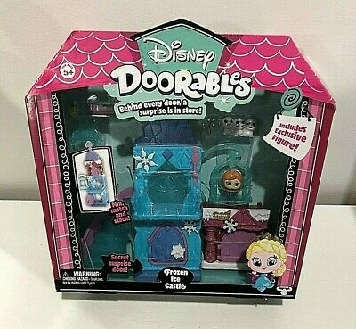 New Disney Doorables Olaf's Chill Out Mini House 5 Piece Surprise Mystery Pack