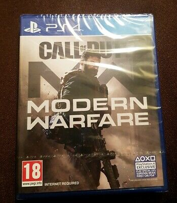Call of Duty Modern Warfare (PS4) Game  BRAND NEW SEALED