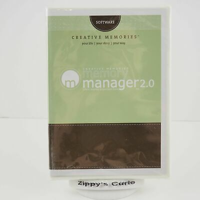 Creative Memories Memory Manager Software 2.0 - New & Sealed