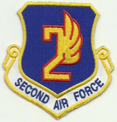 """Air Force 2nd Special Operations Squadron Patch 3.62/"""" x 4.25/"""" DS8923"""