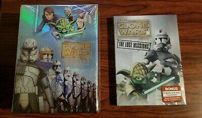 Star Wars:The Clone Wars Season 1-5 Collector Edition & The Lost Missions DVDs