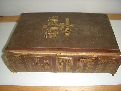 antique Hitchcock's new and Complete Analysis of the Holy bible 1872