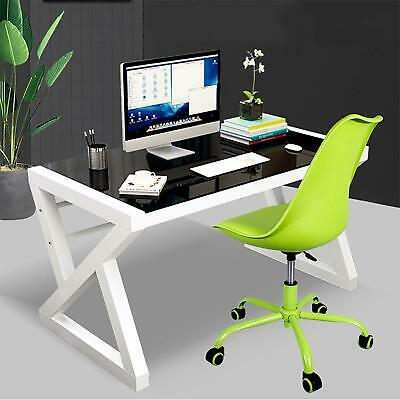 Modern Office Chair - Rolling Adjustable Upholstered Home Desk Computer Chairs