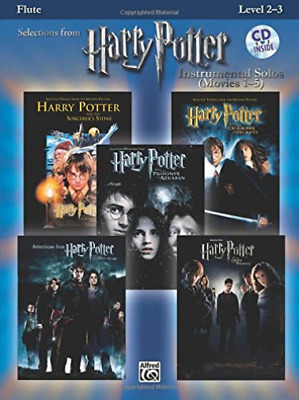Alfred Publishing (Cor)-Selections From Harry Potter Instrumental Solos BOOK NEW