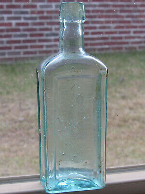 Antique Dr. J.f. Churchill's Specific Remedy For Consumption-N.y.-Cure Bottle