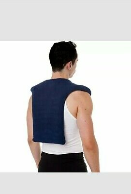 Sunny Bay Extra Large Microwave Shoulder & Upper Back Heating Wrap, Moist Hot an