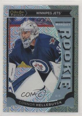 2015-16 O-Pee-Chee Platinum Marquee Rookies Traxx Connor Hellebuyck #M36 Rookie