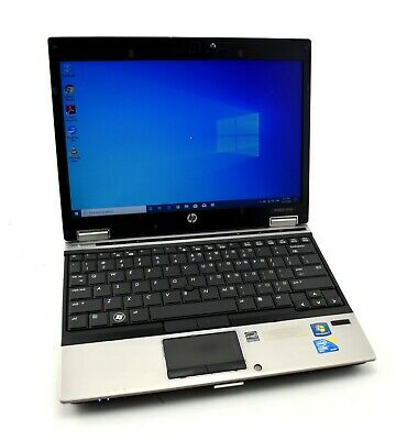 "Hp Elitebook 2540P 12.1"" Notebook Core I7-2620M 2.70Ghz 8Gb Ram Win 10 Pro Wifi"