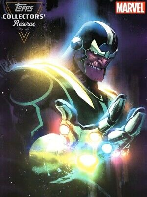 Topps Marvel Collect Digital Card - Thanos Reserve Super Rare