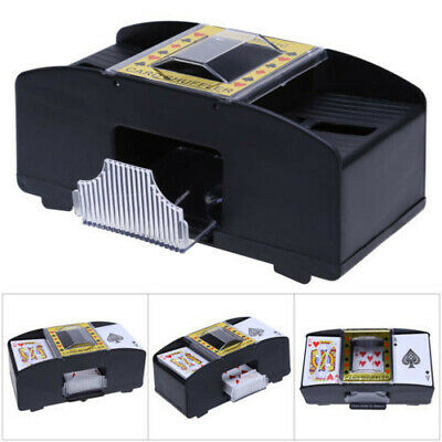 Automatic Card Shuffler 2 Deck For Casino Playing Cards Sorter Poker Games