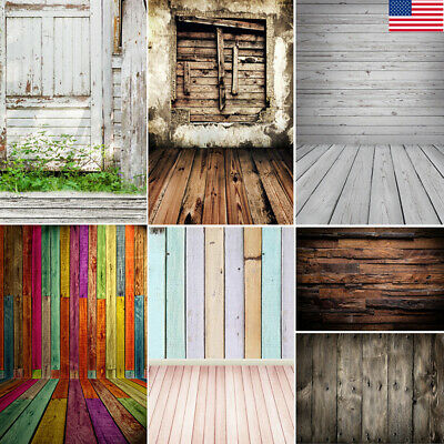 Retro Wood Board Texture Photography Background Photo Studio Backdrops 3x5/5x7FT