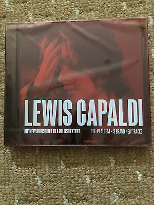 Lewis Capaldi Divinely Uninspired To A Hellish Extent CD & Signed Ltd B&W Print