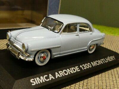 W86 Simca Aronde Elysee Des Records 1957 1//43 Scale Blue Tracked 48 Post