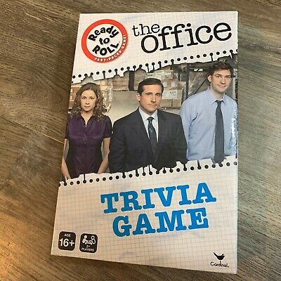 THE OFFICE TRIVIA GAME BoardGame NEW TV NBC Show Ready To Roll Fast Questions