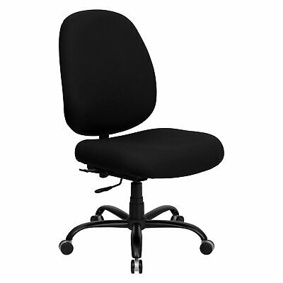 Hercules Series Big and Tall Office Task Chair, Black (holds up to 500 lbs)