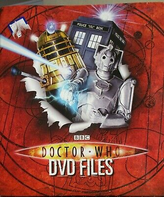 "Doctor Who""The DVD Files"" Ring Binder with collectable files"