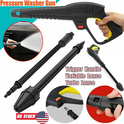 High Pressure Car Washer Spray Gun Variable Turbo Lance Nozzle for LAVOR/VAX/BS