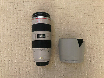 Canon Zoom Lens EF 70-200mm 1:2.8 L IS USM w/UV Filter and Hood