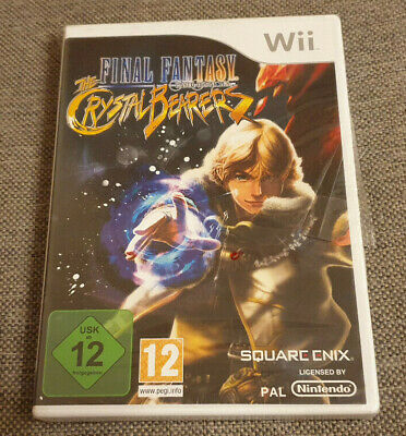 Nintendo Wii Final Fantasy The Crystal Bearers New Sealed German Version