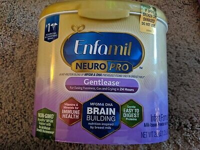 Enfamil NeuroPro Gentlease Infant Formula - Brain Building Nutrition Powder 20OZ