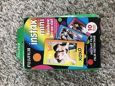 2019 FujiFilm Instax Mini Rainbow 10 sheets Genuine OEM