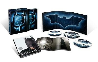 The Dark Knight: Trilogy Trilogie Collector DIGIPACK US Soft Touch 5 BLU RAY
