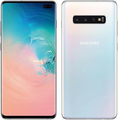 New Samsung Galaxy S10 SM-G973U 128GB Prism White (T-Mobile) Unlocked Smartphone