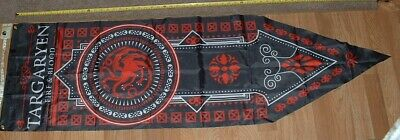 Game of Thrones House of Targaryen Banner/Flag FIRE & BLOOD FREE SHIPPING